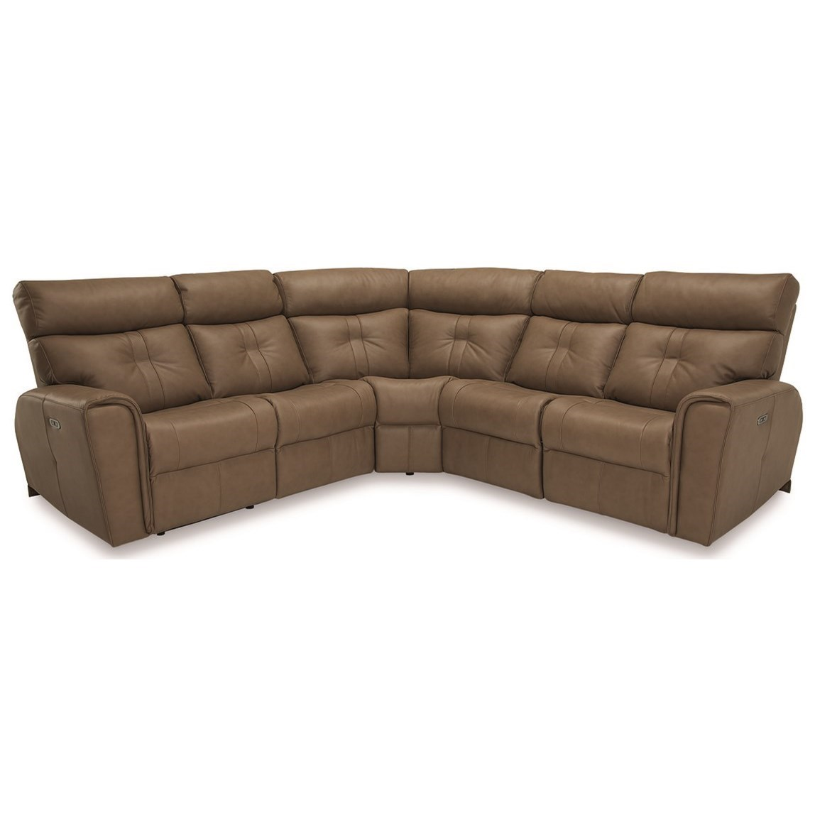 sectional sofas recliners how much does it cost to reupholster a sofa bed palliser acacia contemporary corner power recliner with headrests