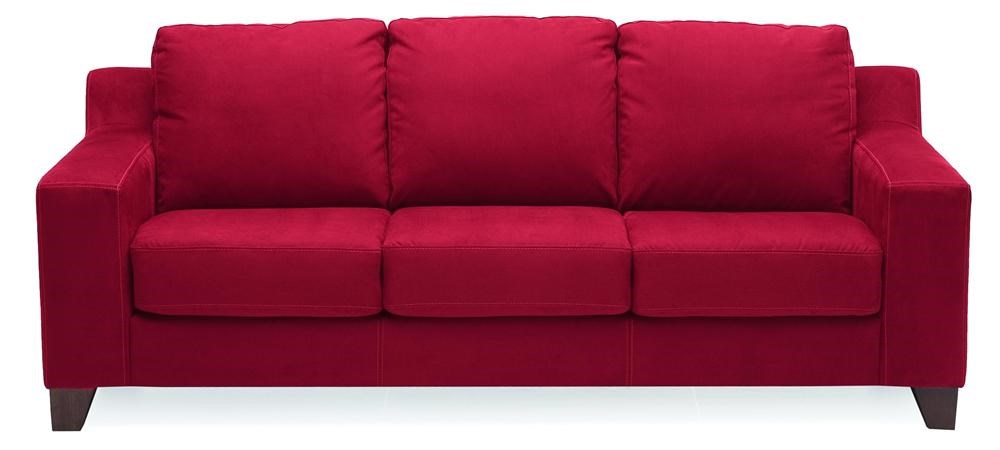palliser stationary sofas ashley furniture zeth sleeper sofa reed contemporary with thick track arms