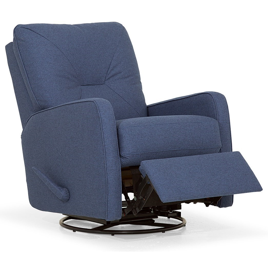 Swivel Rocker Recliner Chair Theo Contemporary Swivel Rocking Reclining Chair By Palliser At Dunk Bright Furniture