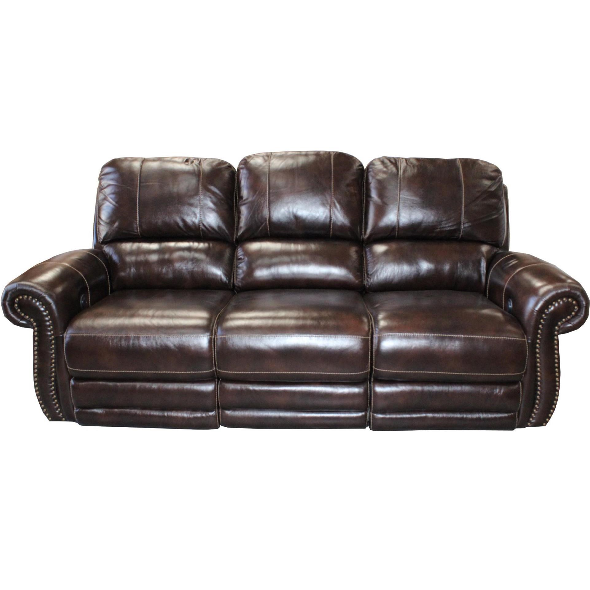 Howell Traditional Power Reclining Sofa With Nail Head