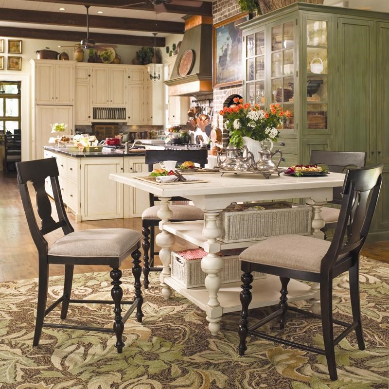 paula deen table and chairs childrens study chair by universal home gathering set w 4 homegathering counter