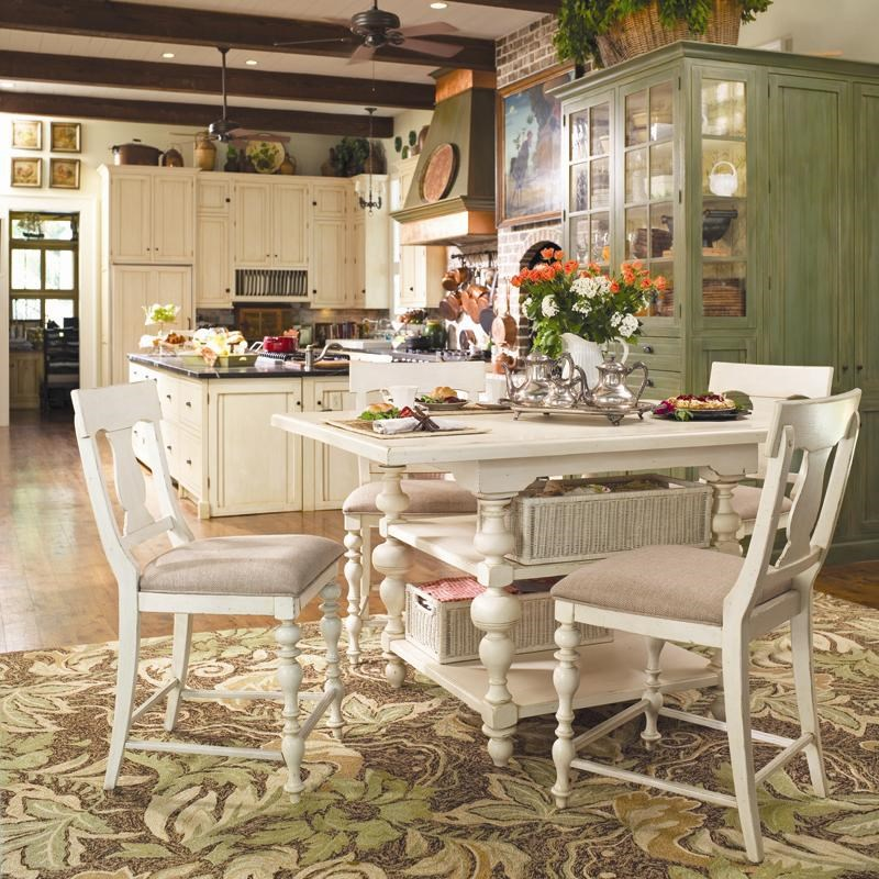 paula deen table and chairs chair pads for hardwood floors by universal home gathering set w 4 homegathering counter