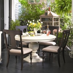 Paula Deen Table And Chairs Alite Monarch Butterfly Chair By Universal Home Round Dining W 4 Homeround Splat Back