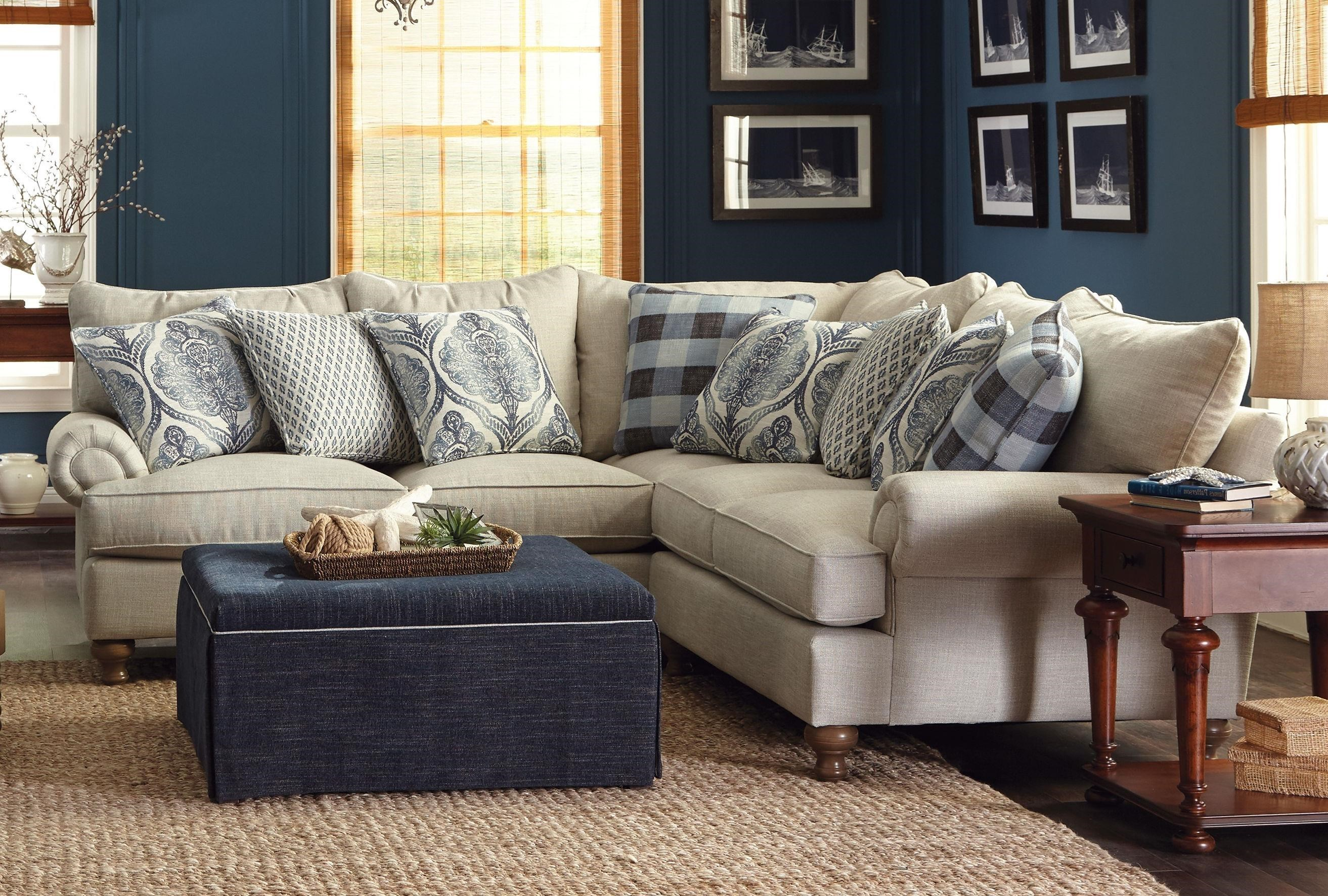 paula deen home living room furniture design ideas pictures by craftmaster p711700 2 piece sectional sofa with rolled arms and turned feet