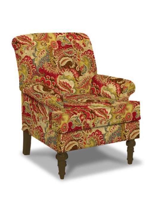 craftmaster chair and a half how to make queening paula deen by upholstered chairs traditional with english arms turned legs
