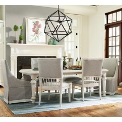 Paula Deen Living Room Furniture Collection Sizes Of Area Rugs For By Universal Bungalow Seven Piece Dining Set With Two 18 Table Leaves And Upholstered Winsdor Back Chairs