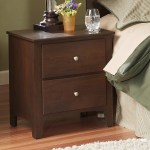 Perdue 60000 Series Dark Oak 2 Drawer Nighstand Rune S