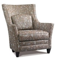 Precedent Accent Chairs Contemporary Wing Back Chair ...