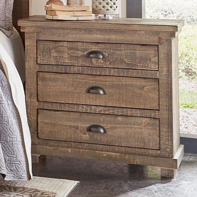 Progressive Furniture Willow P635 43 Distressed Pine