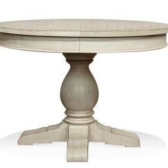 Pedestal Kitchen Table Italian Cabinets Riverside Furniture Aberdeen Round Dining Turk Aberdeenround