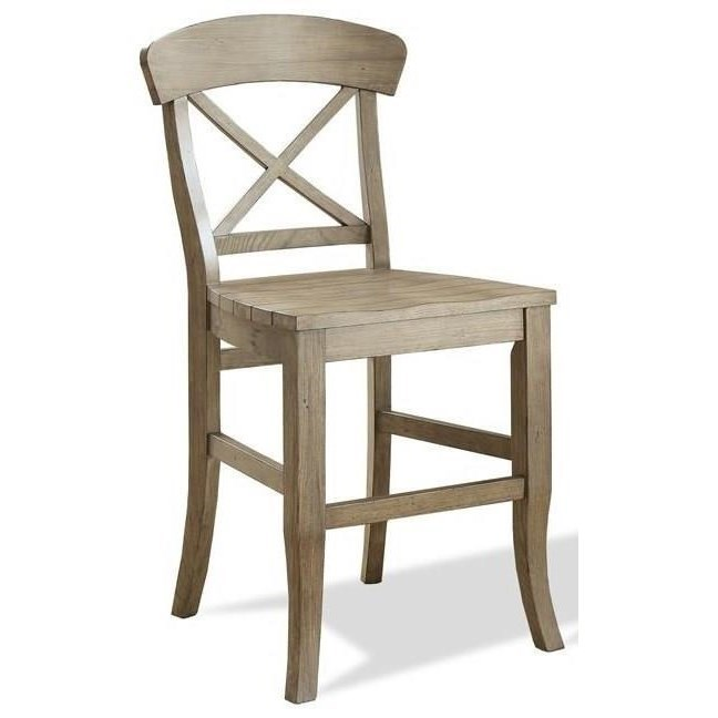 chair stool with back patio cushions canadian tire riverside furniture regan 27459 x counter saddle reganx
