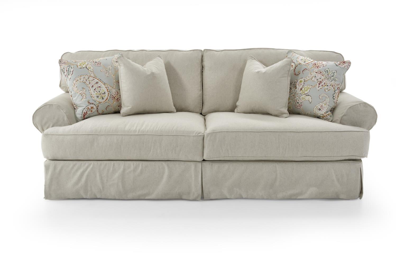 Rowe Addison 7860 000 Bal V 10526 84 Traditional 2 Seat Sofa