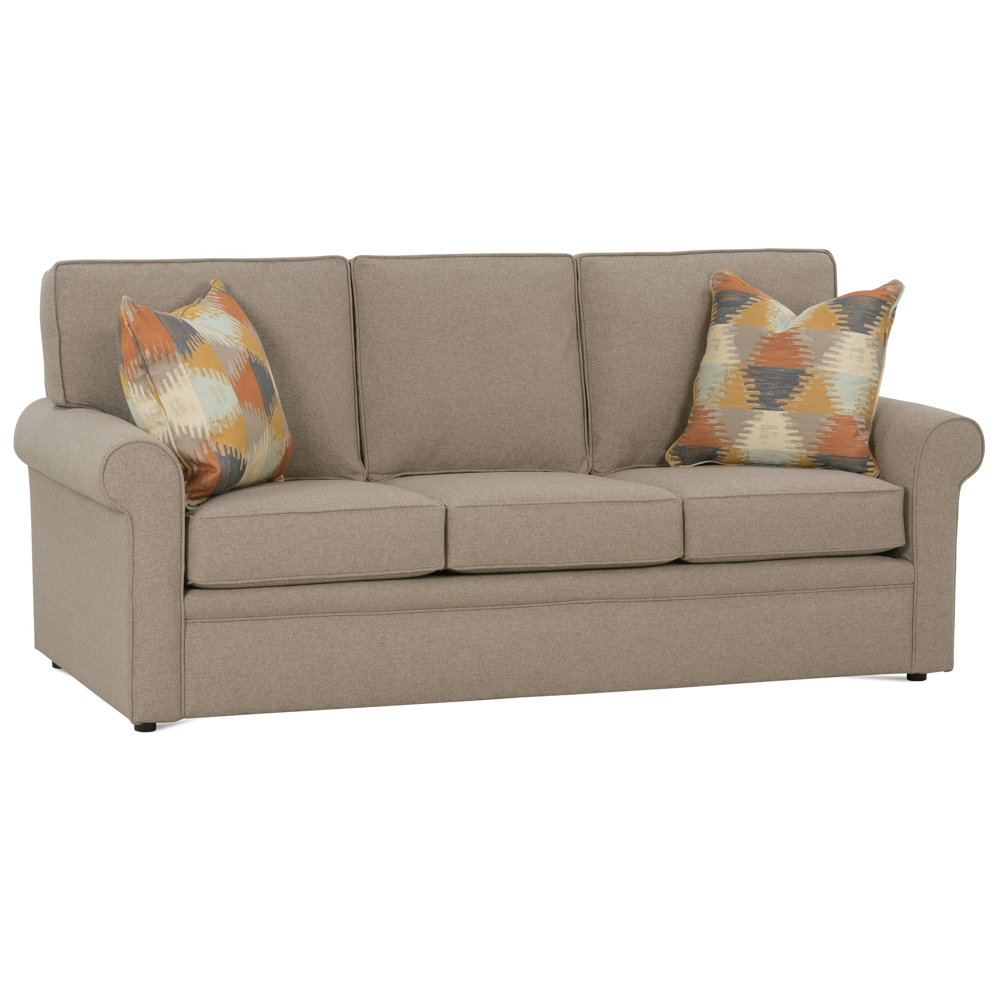 dalton sofa bed orange sleeper rowe queen belfort furniture sofas