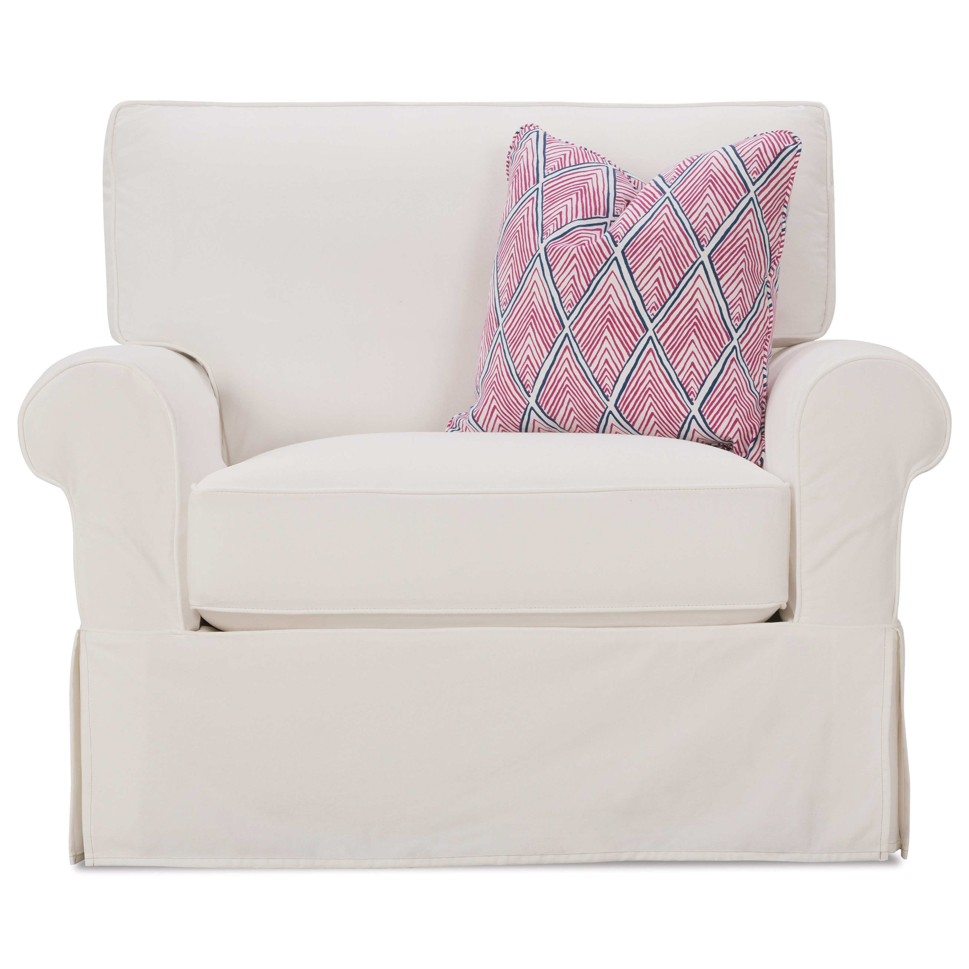 slipcover for chair and a half chesterfield sofa rowe easton casual with belfort