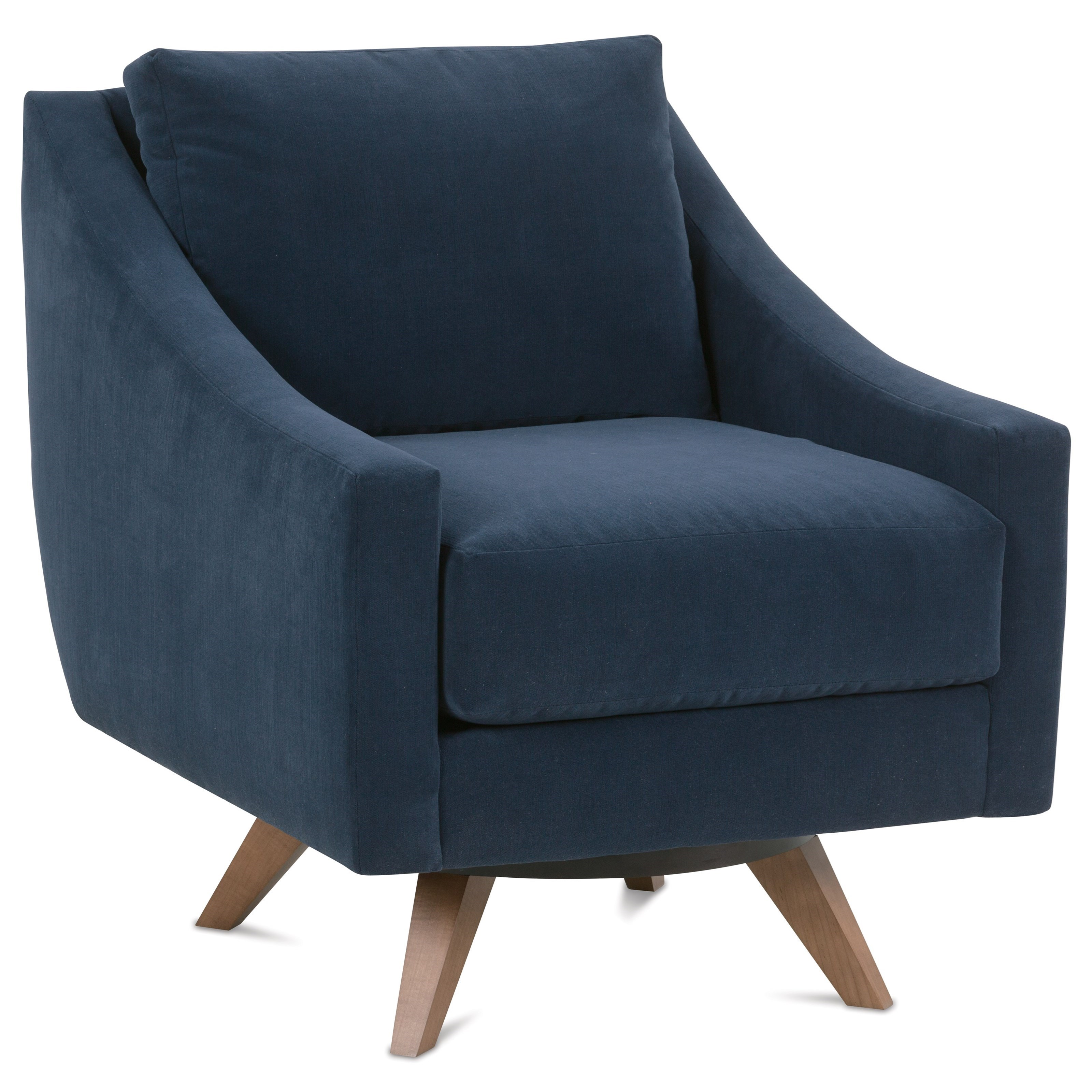 comfortable swivel chair how to make covers for a party rowe nash contemporary steger s furniture