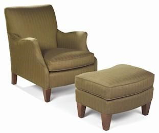 Sam Moore Chairs Sam Moore Aunt Jane Upholstered Club Chair Ottoman Moore S