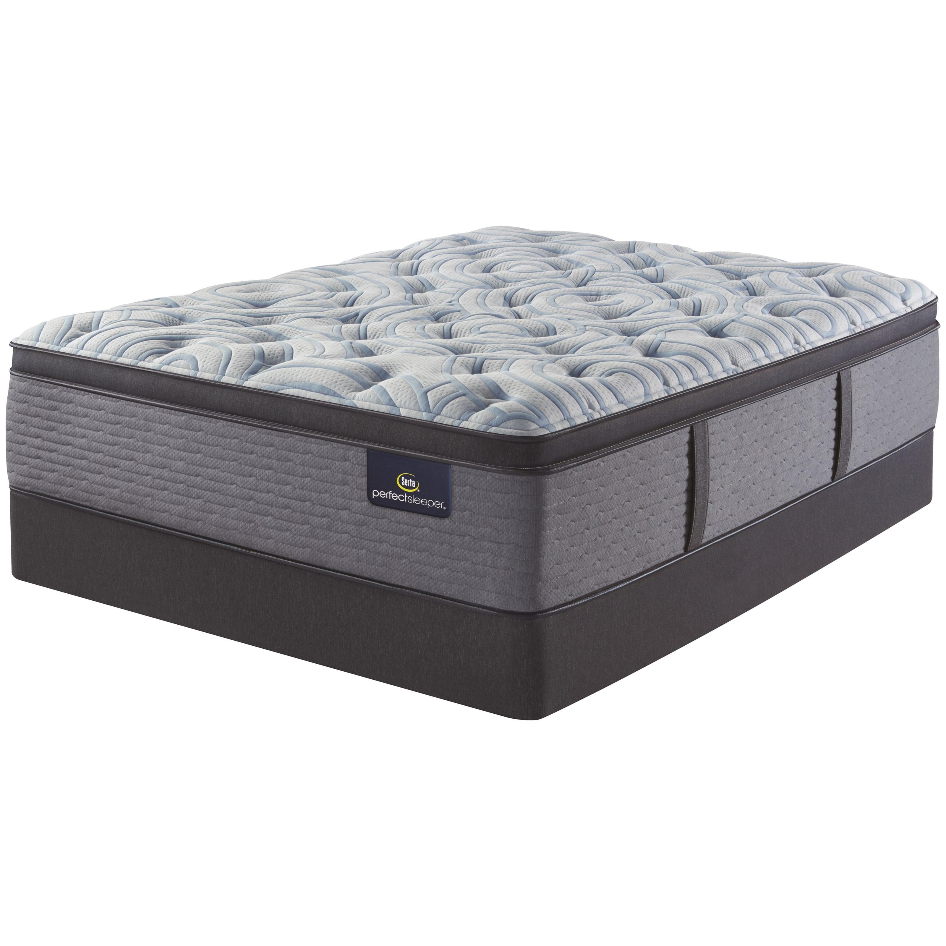 luminous sleep medium pt queen 17 1 2 medium pillow top set