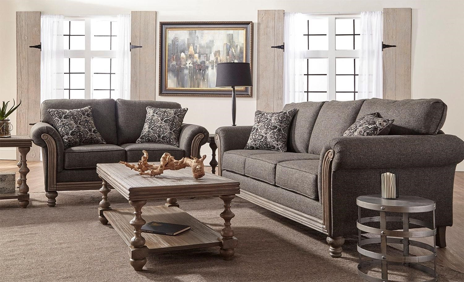living room sofa and loveseat sets gray leather chairs serta upholstery belmont 2pc set rotmans by