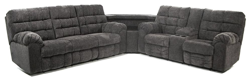 Signature Design By Ashley Addie Reclining Sectional Sofa