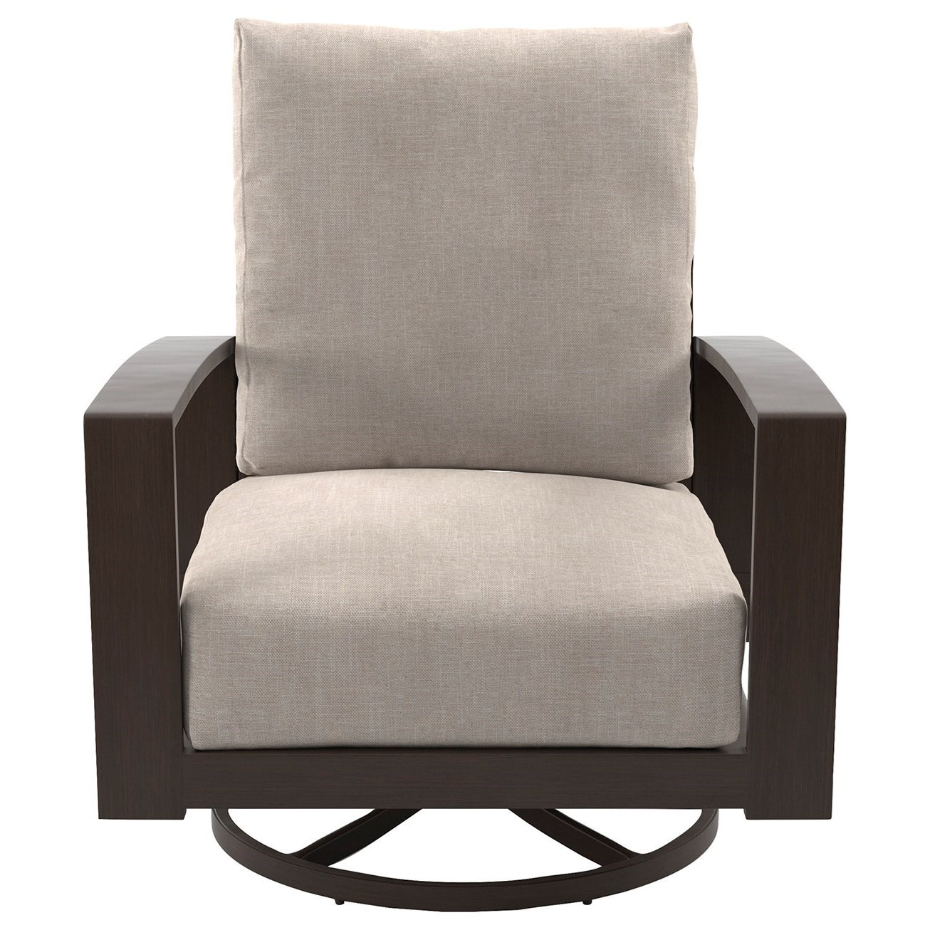 Ashley Chairs Cordova Reef Set Of 2 Swivel Lounge Chairs With Cushion By Signature Design By Ashley At Olinde S Furniture