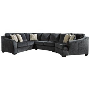 3 piece sectional with right cuddler