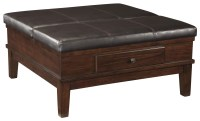 Signature Design by Ashley Gately Lift Top Ottoman ...
