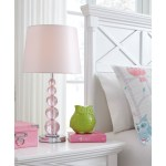 Lamps Contemporary Letty Pink Table Lamp