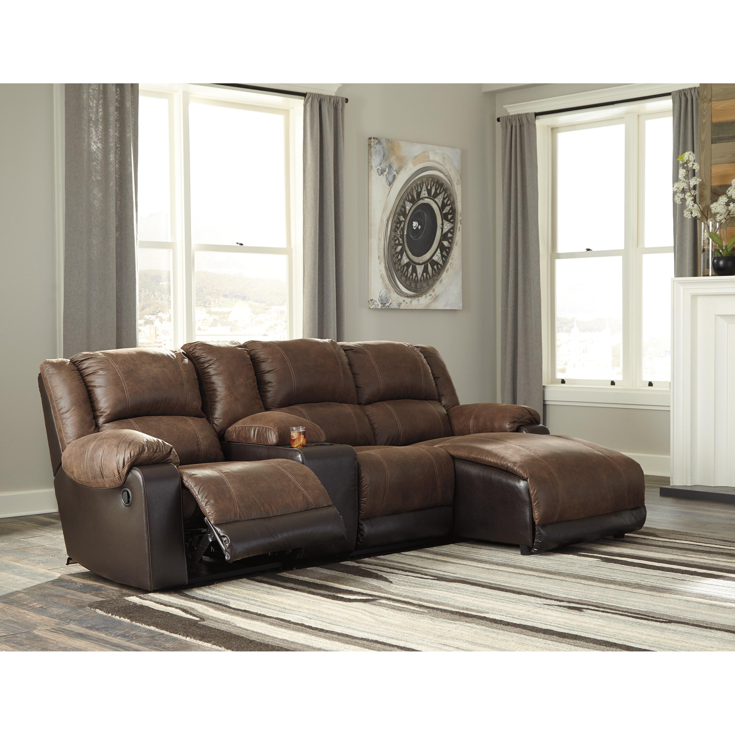 nantahala reclining chaise sofa