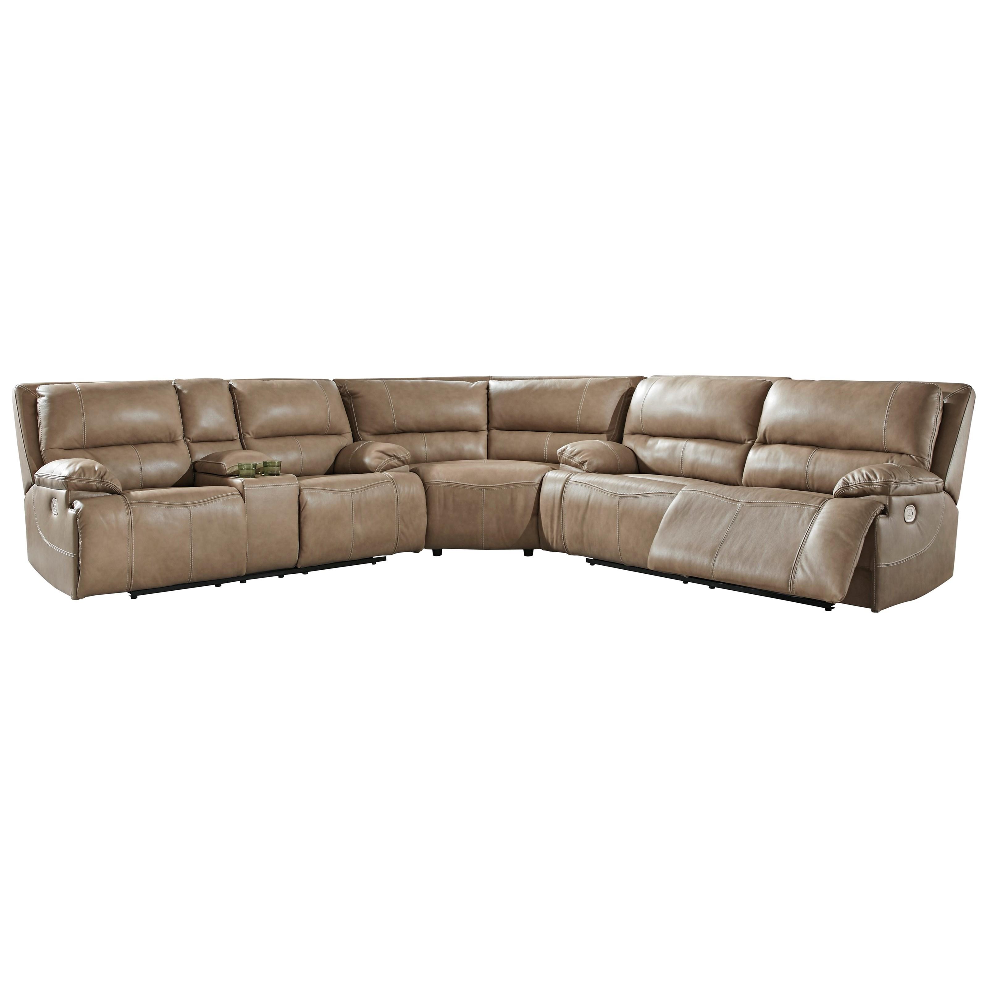 ricmen 3 piece power reclining sectional