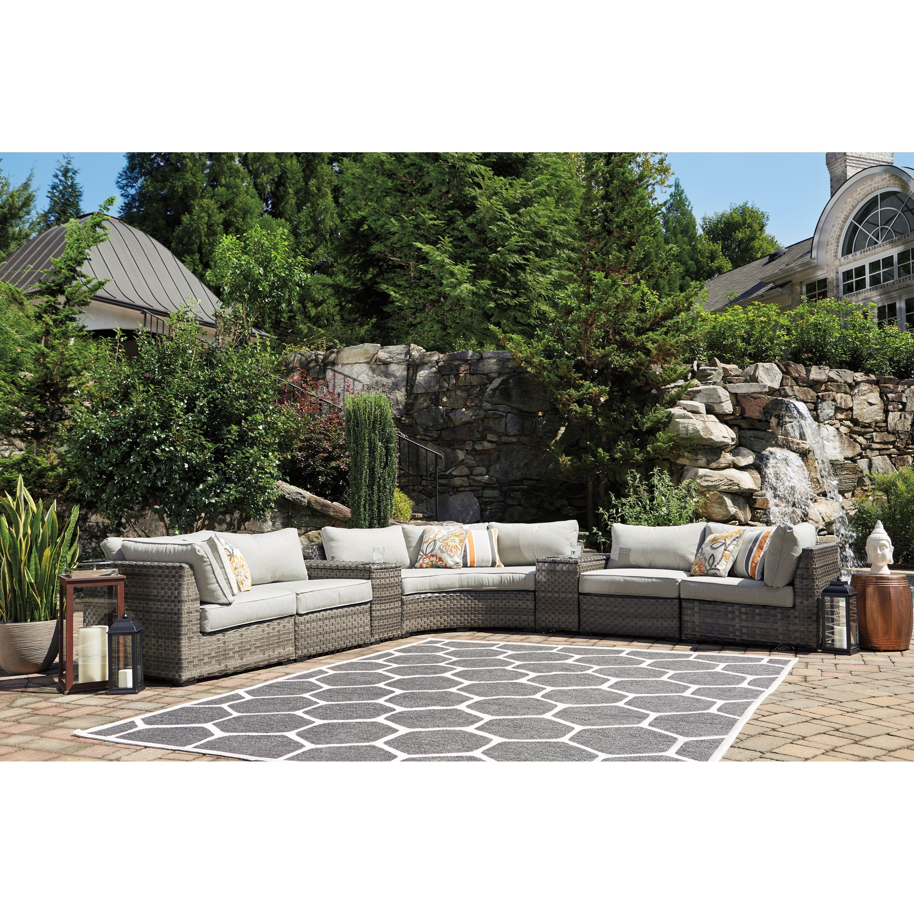 lexmod monterey outdoor wicker rattan sectional sofa set velvet fabric uk sofas mysterabbit com signature design by ashley spring dew 7 piece