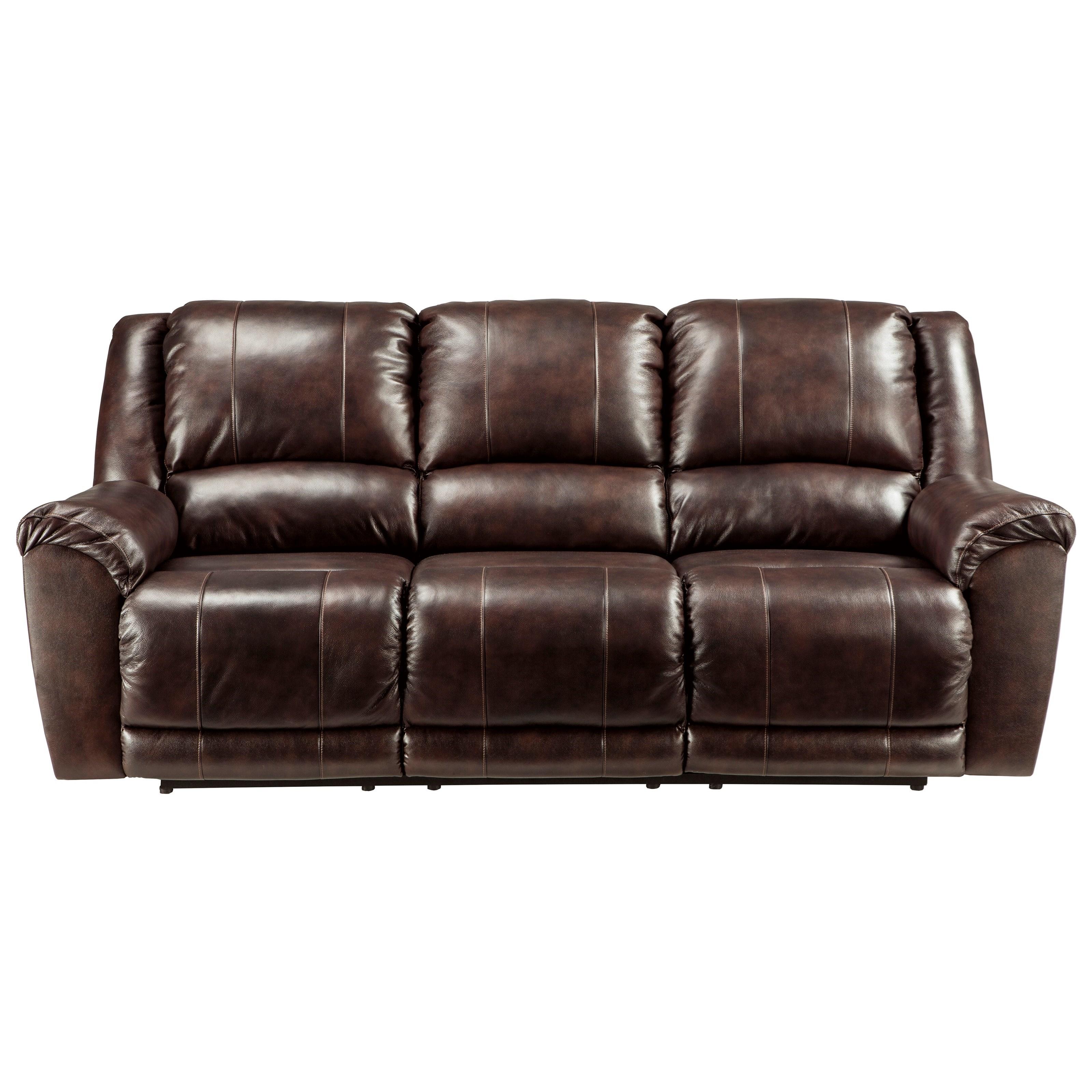 Ashley Furniture Leather Sofa Home Decor