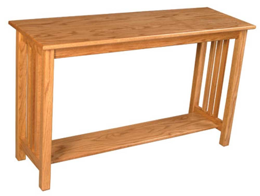 Simply Amish Mission Amish Mission Sofa Table Becker