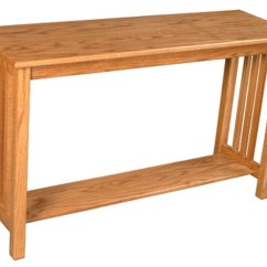 Amish Built Sofa Tables Bamboo Arm Tray Simply Mission Table Dunk Bright Furniture Console