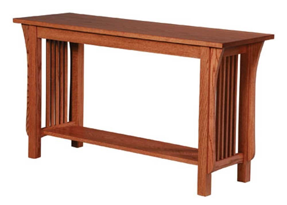 amish built sofa tables lignet roset sleeper simply prairie mission table dunk by