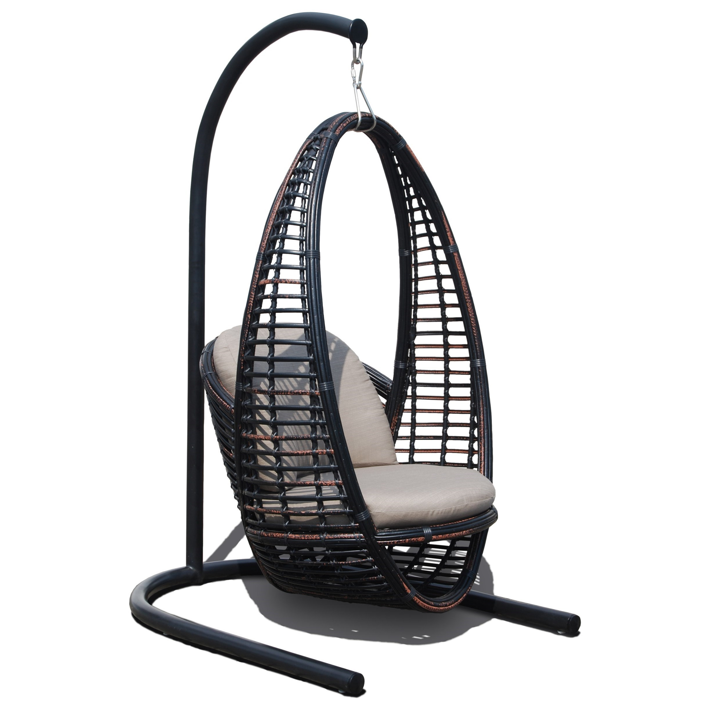 hanging outdoor chairs small bedroom chair or stool skyline design heri with cushion baer s