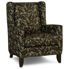 Traditional Wingback Chair Hill Smith Brothers 538 30 Wing Back With Track Arms Dunk Bright Furniture Chairs