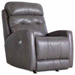 Wall Hugger Recliner Chair Neutral Posture Warranty Southern Motion Bank Shot Power Headrest