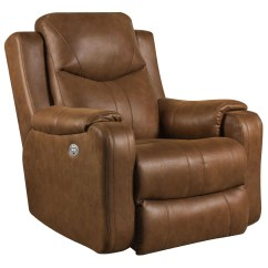 Rocker And Recliner Chair Black Wooden Rocking Southern Motion Marvel 5881pp With Power Headrest Marvelrocker