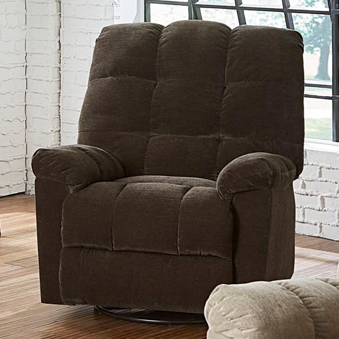 Swivel Recliner Chairs Earhardt Casual Manual Glider Swivel Recliner By Standard Furniture At Dunk Bright Furniture