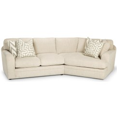 Customize Your Sectional Sofa Leather Chair Covers Stanton 429 Casual Two Piece With Right Arm Facing Angled Cuddler By