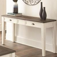 Silver Sofa Table | Baci Living Room