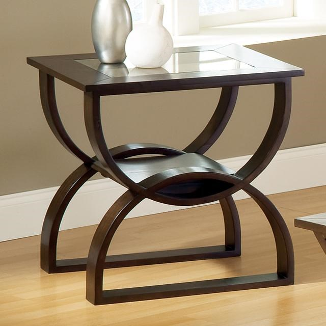 steve silver dylan sofa table long sectional square end with curved base sadler s home
