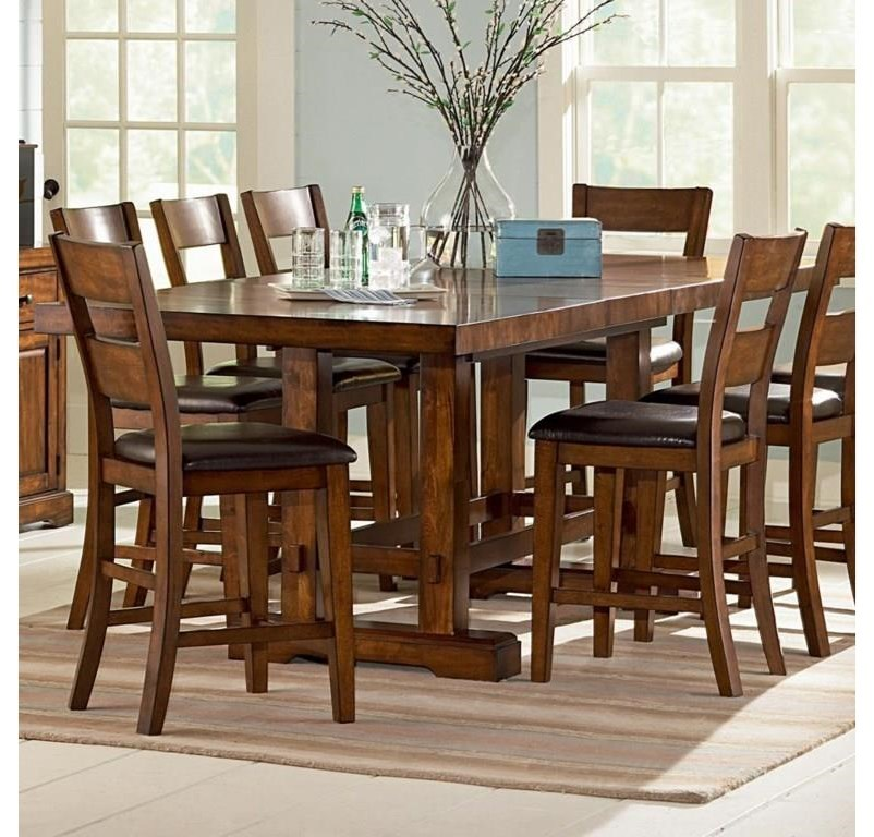 Steve Silver Zappa Zp550pt 4xcc 5 Piece Rectangular Counter Height Table And 4 Counter Height Chairs With Upholstered Seats Set Sam Levitz Furniture Pub Table And Stool Sets