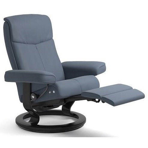 stressless chair sizes rolling stand peace large legcomfort with classic base novello by