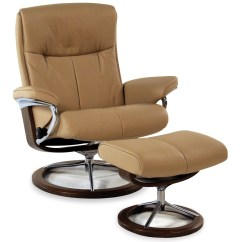 Office Chair Ottoman Disposable Plastic Covers For Parties Stressless By Ekornes Peace Large Signature Reclining Paloma Beige