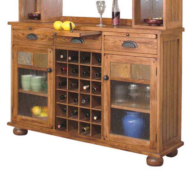 Sunny Designs Sedona Rustic Oak Server Conlins