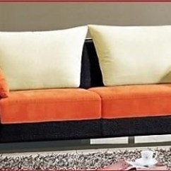Orange And Black Sofa Bed Corner Ikea Canada Titanic Furniture L29 Contemporary Upholestry White By