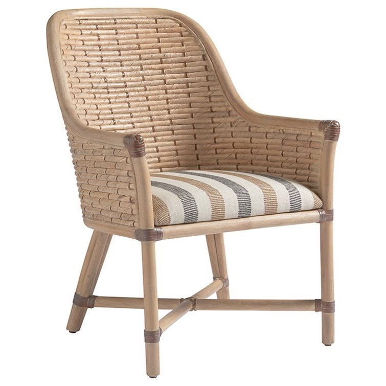 Banana Rocker Chair Tommy Bahama Home Los Altos 566 883 Keeling Woven Banana Leaf Arm