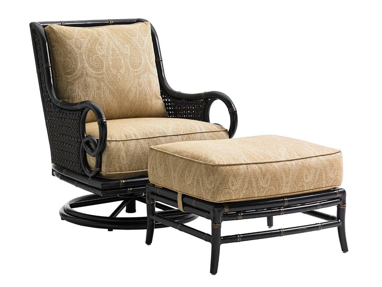 rocker outdoor chairs ergonomic chair rogan tommy bahama living marimba swivel lounge marimbaswivel and ottoman