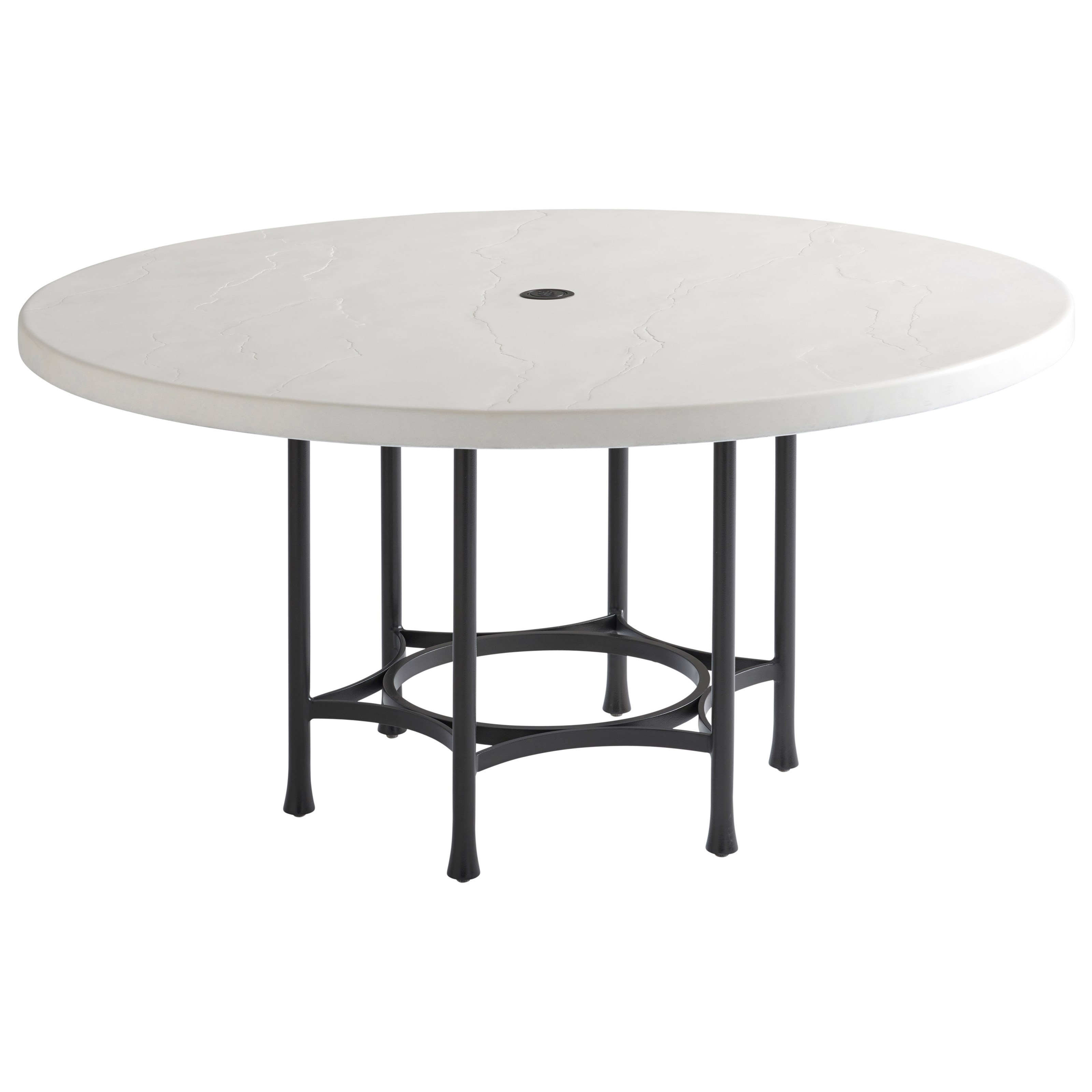 piece outdoor round table and chair set